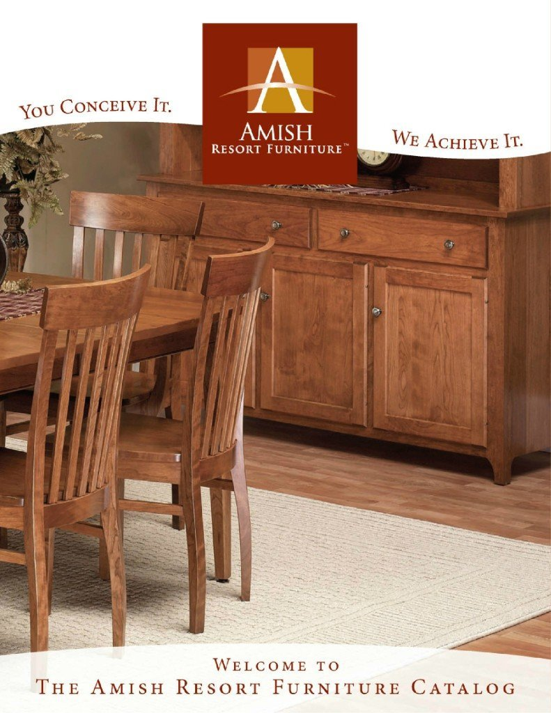 amish resort furniture american made solid wood furniture viewable online catalog