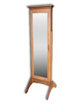 Mirror,Jewelry-Plain-oak