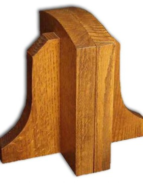 Mission-Bookends-1/4 Sawn oak (Light or Dark)