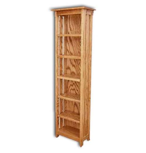 Mission-CD Rack w/adjustable shelves(5)