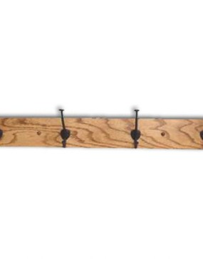 Mission-Coat Rack, 4 Hooks