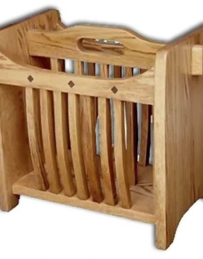 Mission-Magazine Rack-Royal Mission-reg oak