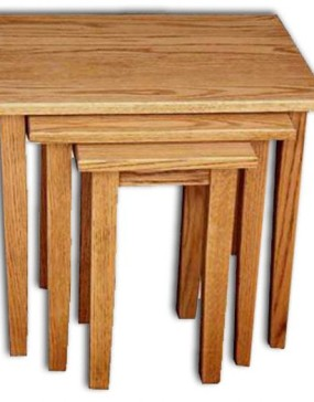 Nesting Tables (3) Shaker Leg-Cherry