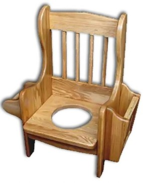 Potty Chair-Spindle