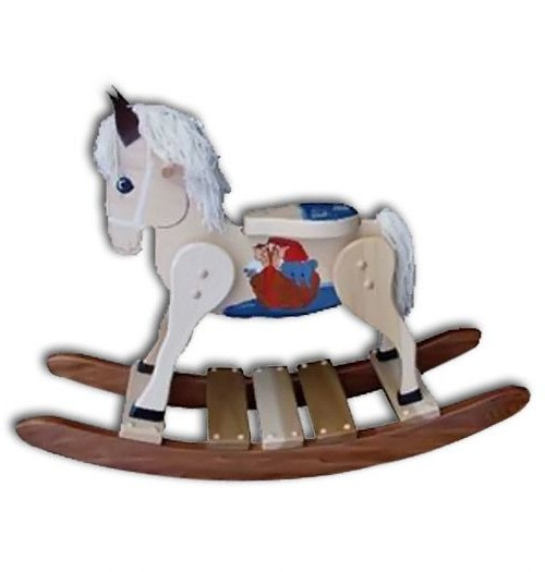 Rocking Horse-Deluxe,small-Painted Noah's Ark