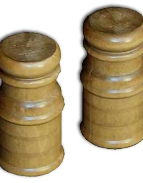 Salt & Pepper Shaker Set-wooden