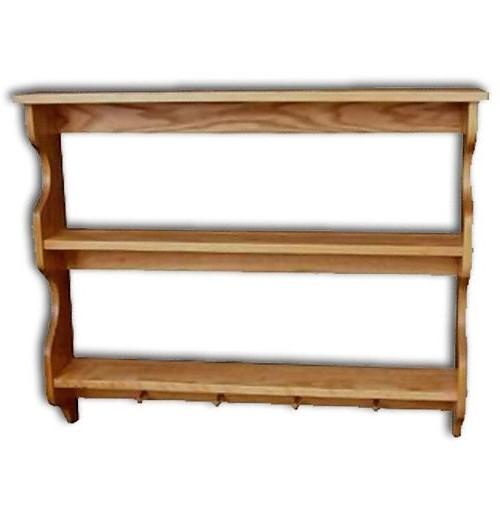"""Shelf 3-tier,Pegs no rails 36"""""""