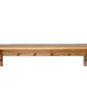 "Shelf,Plain-pegs 12"""