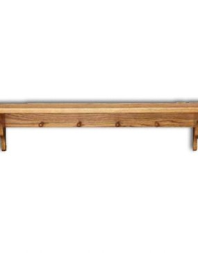 "Shelf,Plain-pegs 24"""