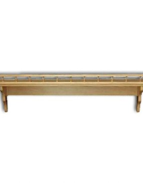 """Shelf,Plain-rail 12"""""""