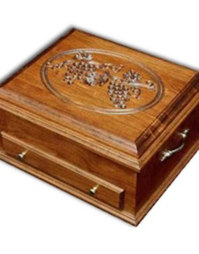 Silverware Chest-cherry-Grapes lid