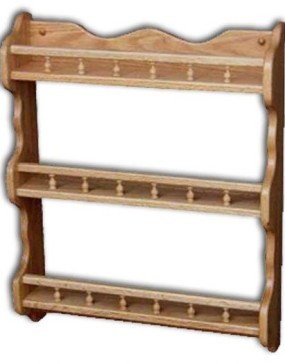 Spice/Cup/Plate Shelf 3-tier