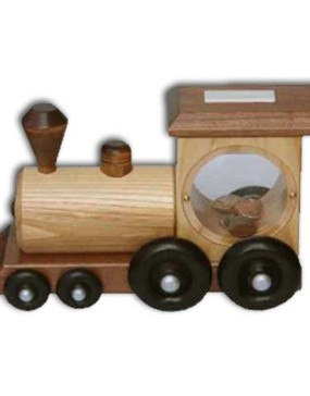 "Train Bank-Loco-musical 9.5""x4.5""x6"""
