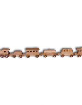 """Train, medium-Oak 34"""" Long"""