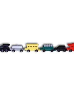 """Train, medium-Painted 34"""" Long"""