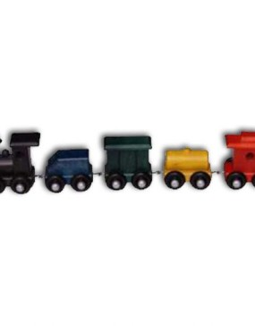 """Train,small-Painted 14"""" Long"""