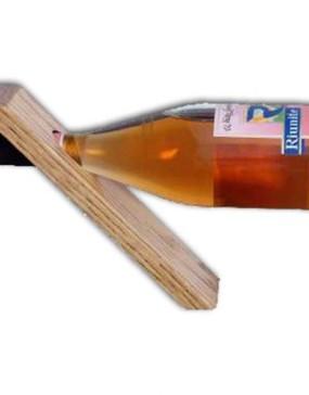 Wine Bottle Holder-Oak
