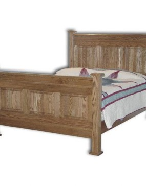 American Panel Bed