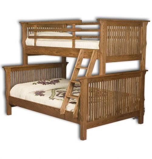 Full / Twin Mission Bunk Bed