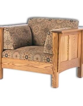 1675 Shaker Hi-back Panel Chair