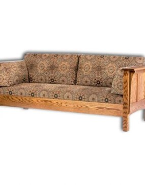1675 Shaker Hi-back Panel Sofa