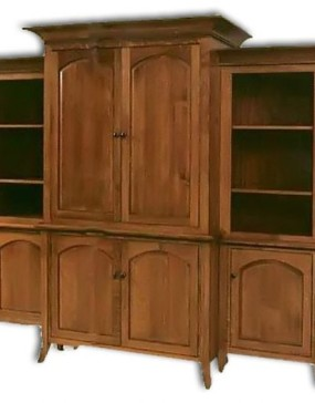 Bunker Hill 6-Piece Entertainment Center