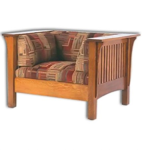 1800 Series Slat Mission Chair