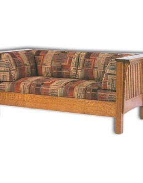 1800 Series Slat Mission Loveseat