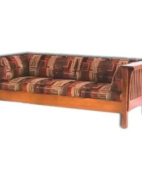 1800 Series Slat Mission Sofa