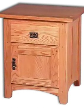 Andy's 1-Drawer 1-Door Nightstand