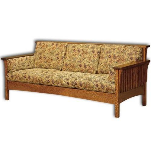 High Back Slat Sofa