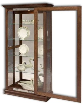 Large Sliding Door Picture Frame Curio