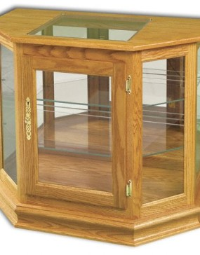 Angled Picture Frame Console
