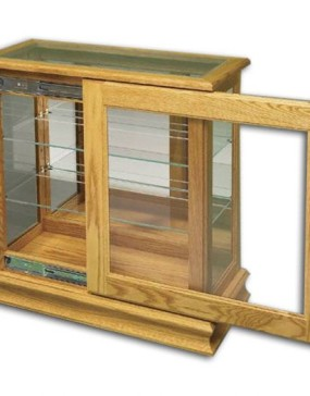 Console Picture Frame w/ Sliding Door