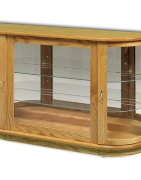 Large Console With Rounded Sides
