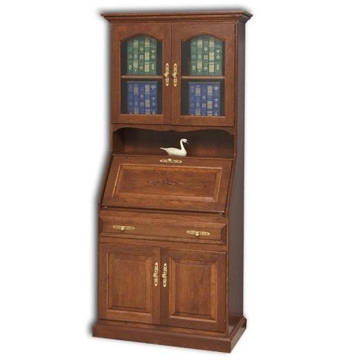 """Deluxe 33"""" Secretary Desk With Doors"""