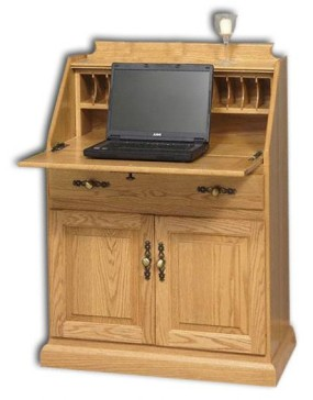 Secretary Desk With Doors
