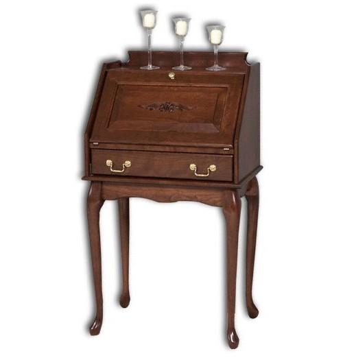 Secretary Desk With Queen Ann Legs