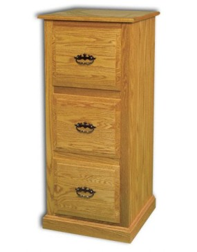 3-Drawer Traditional File Cabinet