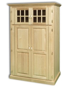 Traditional Computer Armoire