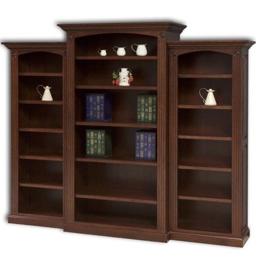 Deluxe Bookcase 3-pc Set
