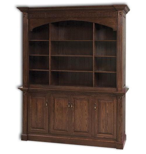 Crescent Moon Executive Bookcase