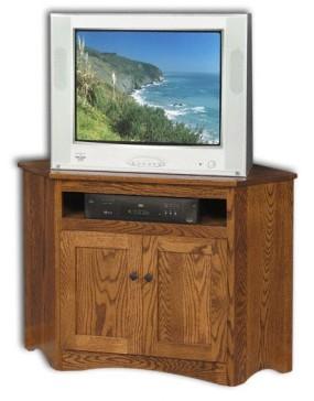 Corner Mission TV Stand