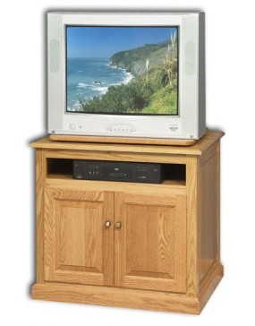 Traditional TV Stand w/ Swivel
