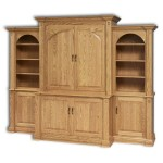 Crescent Moon Entertainment Center 3-pc Set