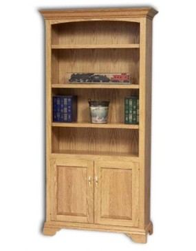 Stockton Bookcase w/ Doors