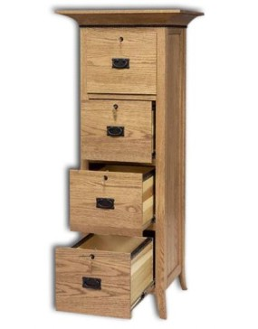Mt Eaton/Bunker Hill 4-Drawer File Cabinet