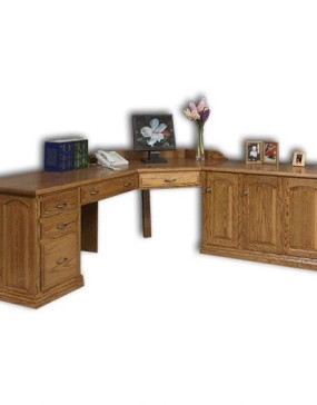 L-Shaped Executive Desk