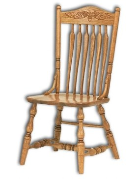 Bent Arrow Post Chair
