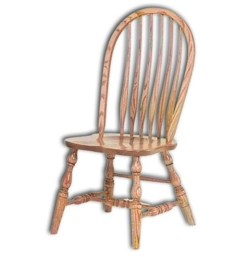 Bent Feather Chair